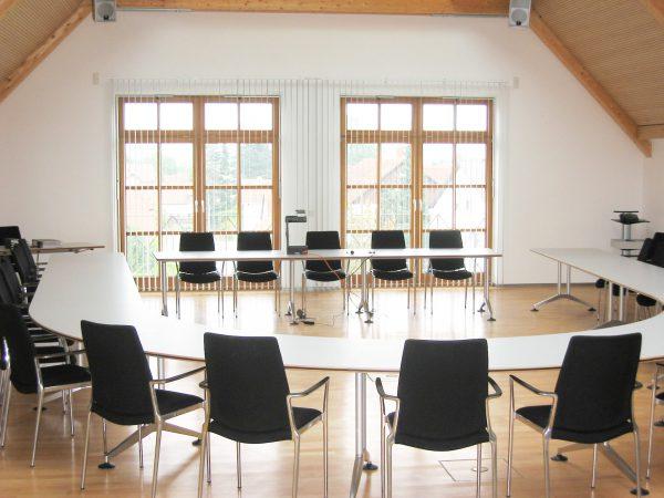 Einrichtung Konferenzraum
