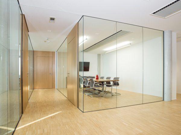 Office Einrichtung Glastrennwände fritzoffice Streicher 02