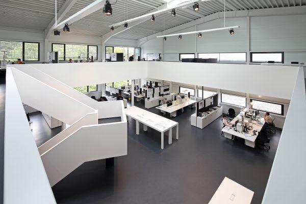 Einrichtung Open Space