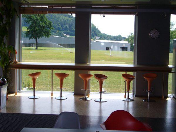 Einrichtung Cafeteria