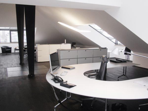 Einrichtung Chefbüro