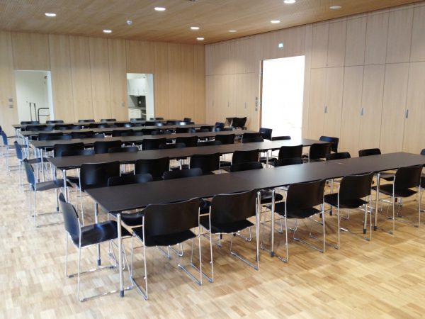 Einrichtung Veranstaltungsraum